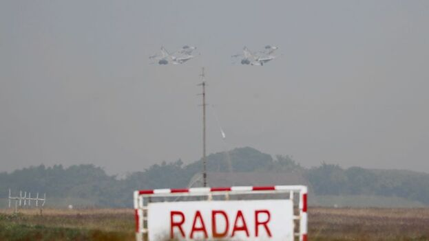 Chiu hizo referencia a las últimas incursiones de aviones chinos en la Zona de Identificación de Defensa Aérea (ADIZ) taiwanesa. (EFE)