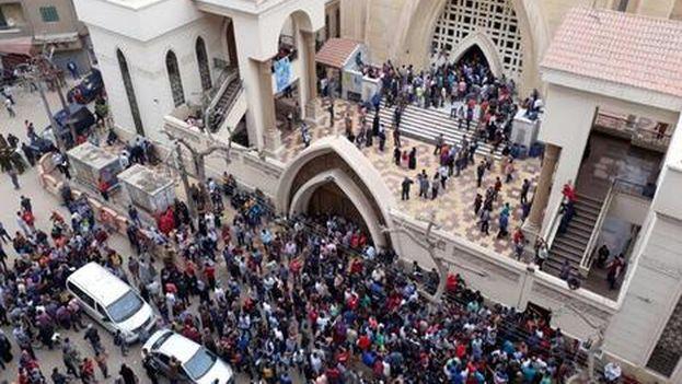 Iglesia copta en Egipto. (Captura)
