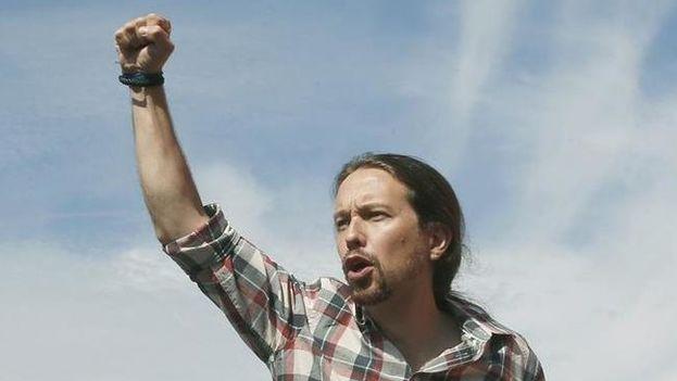 Pablo Iglesias, candidato a la presidencia del Gobierno de España por Podemos. (EFE)
