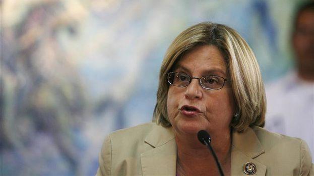 La congresista cubanoamericana Ileana Ros-Lehtinen cree que 'La Nica Act' es un proyecto de ley importante y necesario que ayudará al pueblo nicaragüense en su lucha por los derechos humanos. (EFE)
