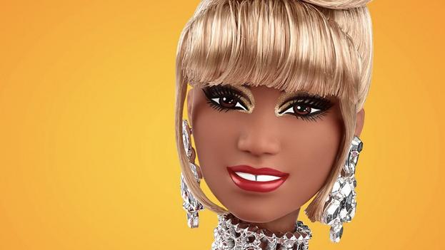 Imagen de la Barbie Celia Cruz publicada por Mattel en Instagram