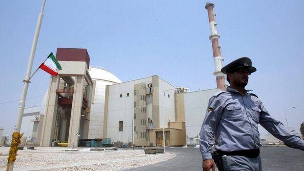 Imagen de de la planta nuclear de Bushehr, en Irán. (EFE)