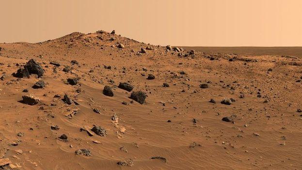 Imagen de la superficie marciana. (NASA)