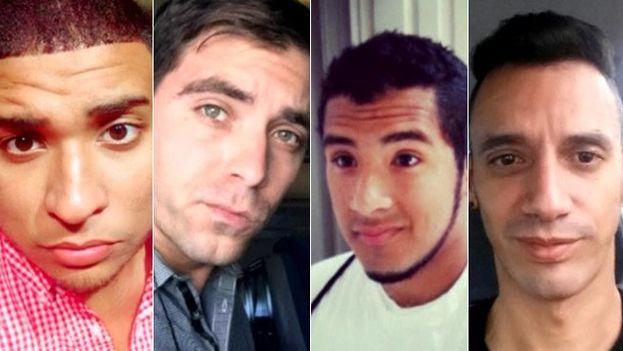 Imágenes de algunas de las primeras víctimas identificadas. Se prevé que muchas de ellas sean de origen latino por el evento celebrado la noche del sábado