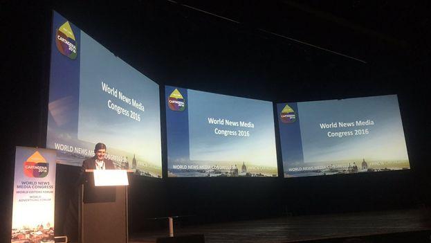 Inauguración en Cartagena del 68 Congreso Mundial de Medios Informativos. (@WANIFRA_AmLat)