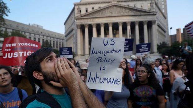Indignados, cientos de 'dreamers' salieron a las calles de las principales ciudades de Estados Unidos para protestar.(US-Mexico Foundation)