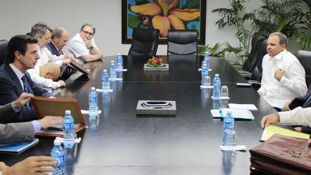 El ministro de Industria español, José Manuel Soria, en Cuba. (Ministerio de Industria de España)