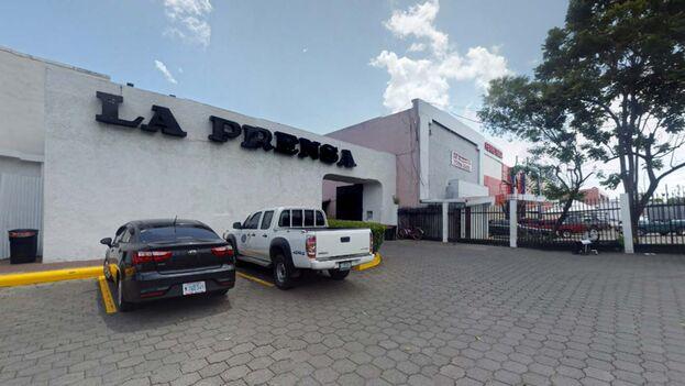 Instalaciones de La Prensa de Nicaragua. (Imagen tomada de Google maps)