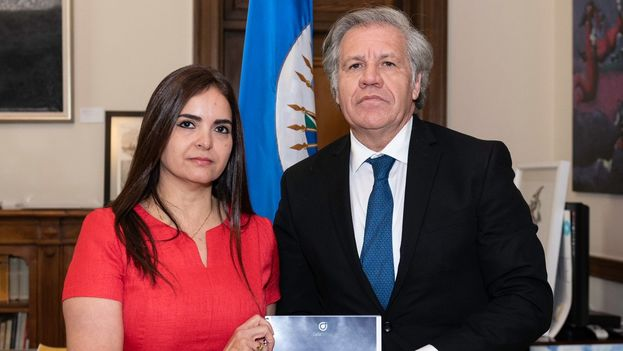 Luis Almagro recibió ayer el informe del Instituto CASLA sobre nuevos casos de tortura presuntamente perpetrados por el Gobierno de Venezuela. (LuisAlmagro)
