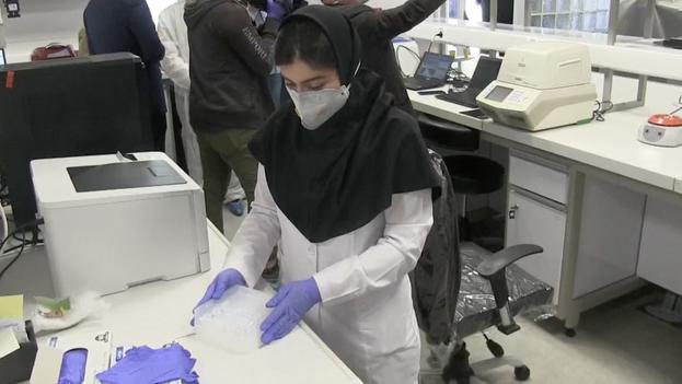 La vacuna del Instituto Finlay en colaboración con el Instituto Pasteur se denominó Pastu Covac en Irán. (EFE/Captura)