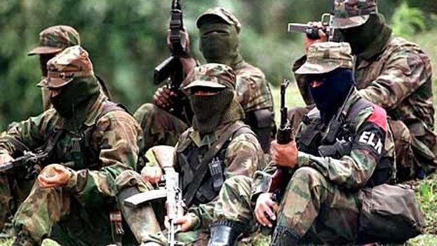 Integrantes del Ejército de Liberación Nacional colombiano, en una imagen de 2007. (Flickr/Silvia Andrea Moreno)