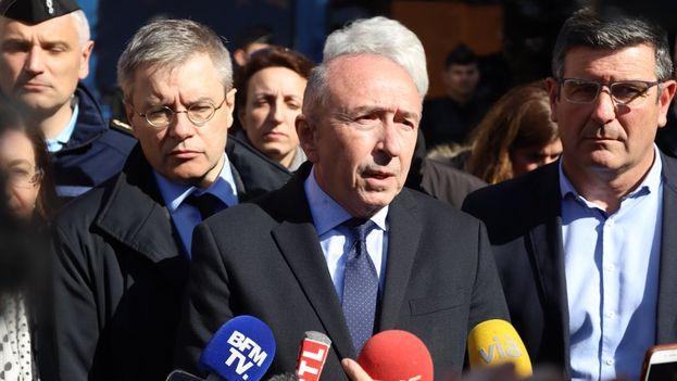 El ministro de Interior francés Gérard Collomb explicó la actuación de las fuerzas de seguridad. (@gerardcollomb)