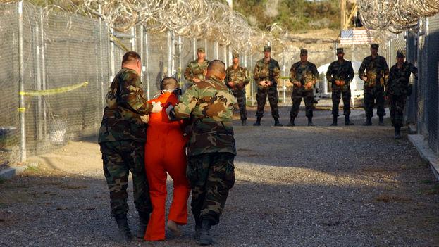 Interior de la prisión de Guantánamo, situada al sur de Cuba, en la Base Militar de EE UU