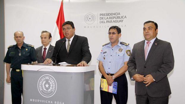 El ministro del Interior de Paraguay, Francisco de Vargas. (Ministerio del Interior)