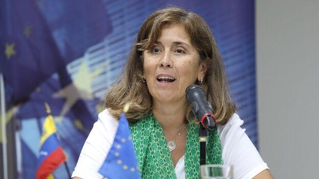 Isabel Brilhante es la embajadora de la UE en Venezuela desde febrero de 2018. (EFE)