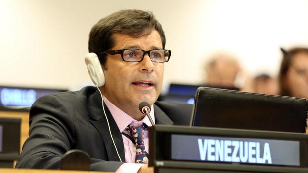 Isaías Medina trabajó durante años en la misión de Venezuela ante Naciones Unidas. (ENB.IISD.ORG)