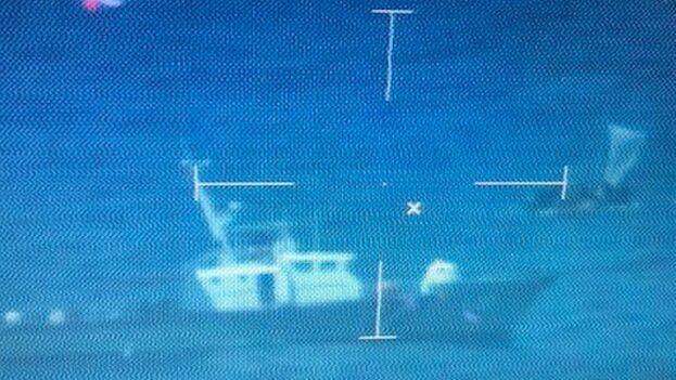 Los migrantes fueron devueltos a la Isla en el buque 'William Trump'. (Guardia Costera)