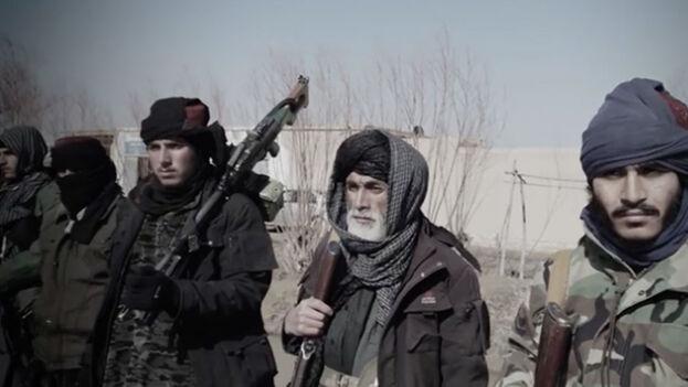 El Estado Islámico reivindicó al menos siete atentados en que murieron al menos 15 talibanes. (Captura)
