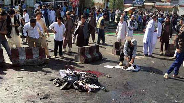 El Estado Islámico se responsabilizó del atentado suicida perpetrado en Kabul. (EFE)