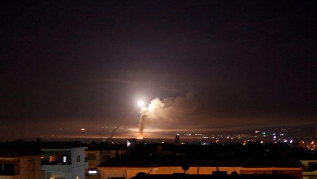 Israel lanzó el mayor ataque sobre Siria en décadas y lo hizo contra objetivos iraníes. (EP)