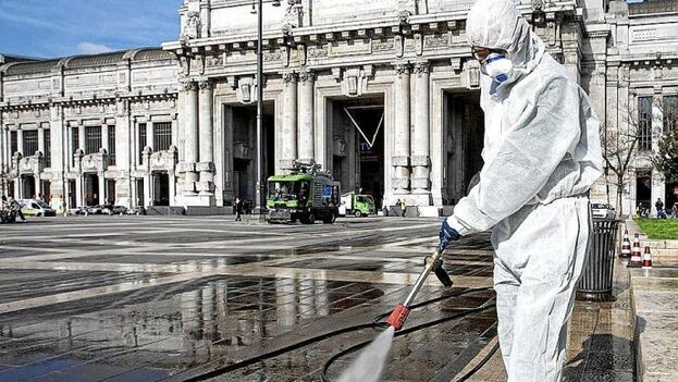 Italia es el país europeo más afectado con más de mil muertos. (EFE)