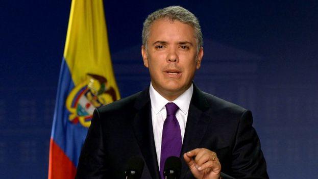"""El mandatario colombiano, Iván Duque, detalló que el nuevo bloque comunitario se enfocará en el desarrollo de """"políticas públicas"""". (EFE/Presidencia de Colombia)"""