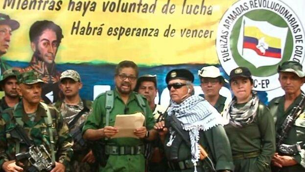 Iván Márquez. (Captura)