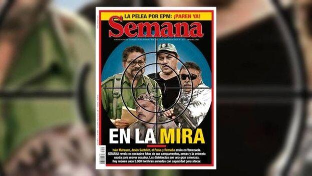"""Todos ellos se salieron del acuerdo de paz para formar, bajo el mando de """"Iván Márquez"""", una disidencia llamada """"Segunda Marquetalia"""". (Semana)"""