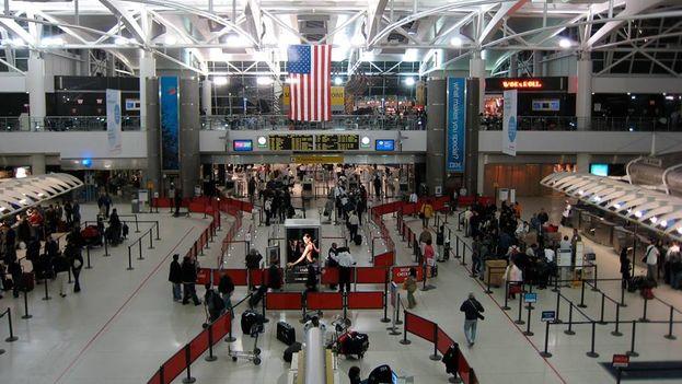 El aeropuerto J.F. Kennedy de Nueva York. (Página Facebook de Cuba Travel Service)