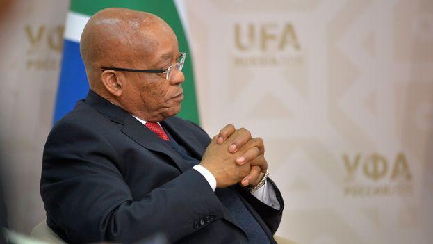 Jacob Zuma había perdido popularidad en la última década, desde que en 2006 empezó a verse salpicado por distintos problemas judiciales. (Kremlim)