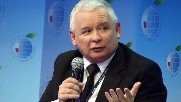 Jaroslaw Kaczynski podría convertirse en el próximo presidente de Polonia, según los sondeos a pie de urna (CC)