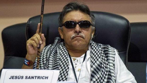 Jesús Santrich fue parte del equipo negociador en las conversaciones de paz celebradas en La Habana. (EFE)