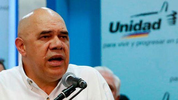 Jesús Torrealba, secretario ejecutivo de la Mesa de Unidad Democrática