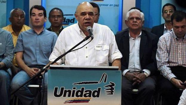 Jesús Torrealba, secretario ejecutivo de la Mesa de la Unidad Democrática (MUD)