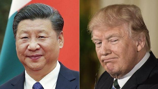 Xi Jinping (izq.), presidente chino, se reunirá con su homólogo estadounidense Donald Trump (der.), en la mansión del Presidente en Florida. (EFE)