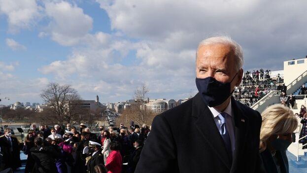 Los líderes latinoamericanos saludaron la llegada de Joe Biden a la presidencia de EE UU y expresaron su voluntad de cooperación. (EFE)