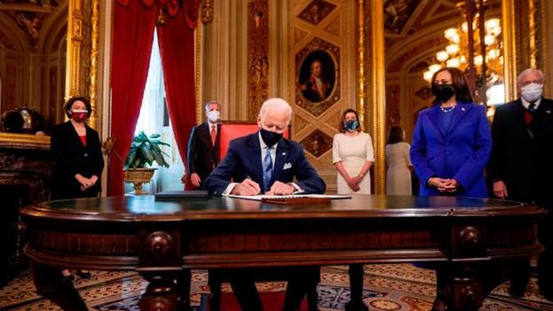 Joe Biden se ha fijado una serie de medidas que debe tomar durante los primeros 100 días. (EFE)