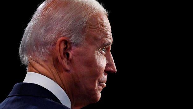 Joe Biden cree que hay que seguir los protocolos, aunque asegura querer debatir.(EFE)