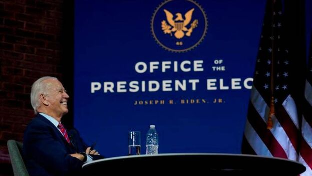 Joe Biden empieza este martes las reuniones para la transición. (EFE)