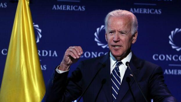 Joe Biden, ex vicepresidente de Estados Unidos. (EFE)