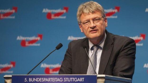 Joerg Meuthen, de Alternative for Germany (AfD), representa al ala más radical del partido. (EFE)