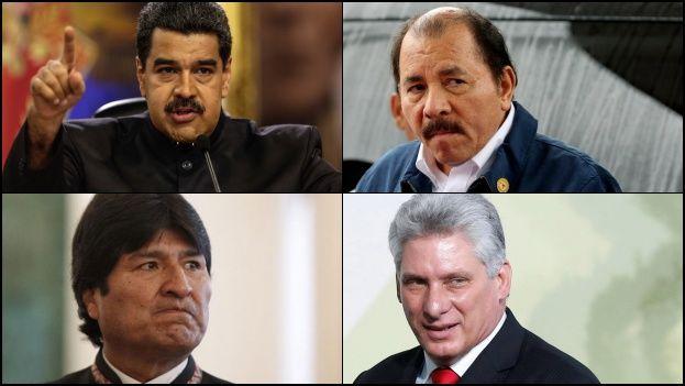 John Bolton delineó lo que será la política latinoamericana de Donald Trump. (Collage)