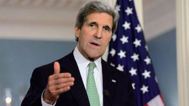 John Kerry, secretario de Estado de los Estados Unidos. (EFE)