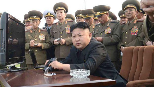 Kim Jong-un considera que las maniobras militares entre Corea del Sur y Estados Unidos son un ensayo para invadir su territorio. (EFE)