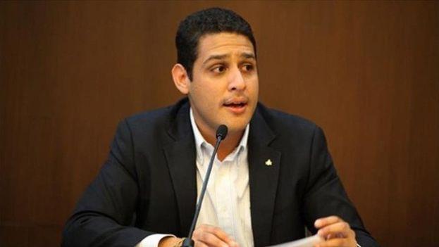 """José Manuel Olivares, opositor, denunció que """"exigir el carnet de la patria para entregar medicina es una violación a los derechos humanos"""". (@joseolivaresm)"""