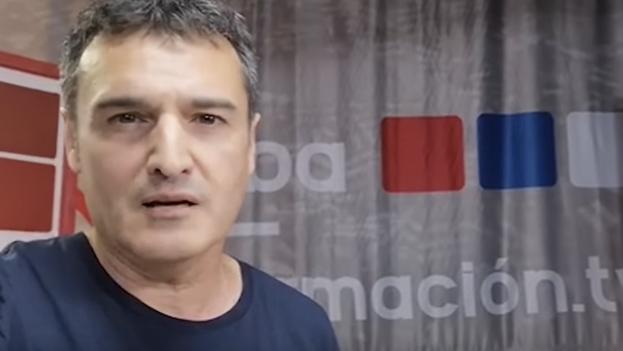 El español José Manzaneda, coordinador de la plataforma Cubainformacion.tv. (Captura)