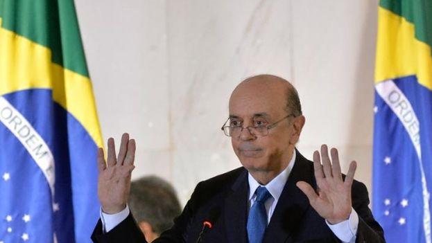 José Serra, canciller interino de Brasil. (EFE)