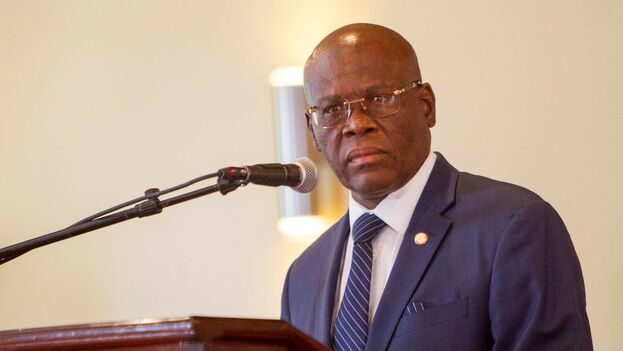 Joseph Jouthe asumió su cargo de primer ministro de Haití en marzo de 2020. (EFE/Jean Marc Hervé Abélard/Archivo)