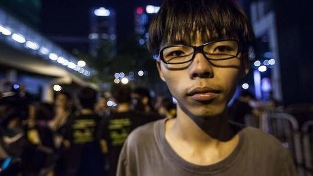 El joven activista Joshua Wong es un conocido líder de la Revolución de los Paraguas. (EFE/Archivo)