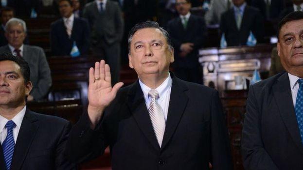 Juan Alfonso Fuentes Soria, nuevo vicepresidente de Guatemala
